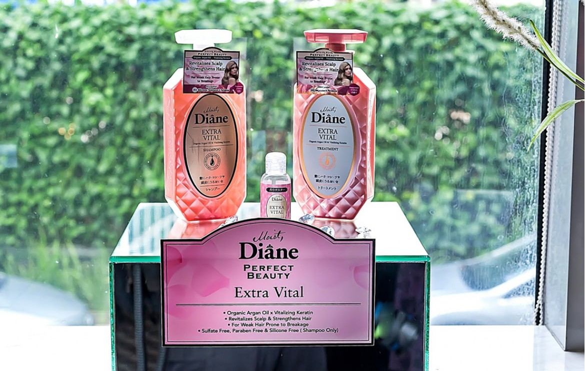 Moist Diane-Japanese silicone-free products!